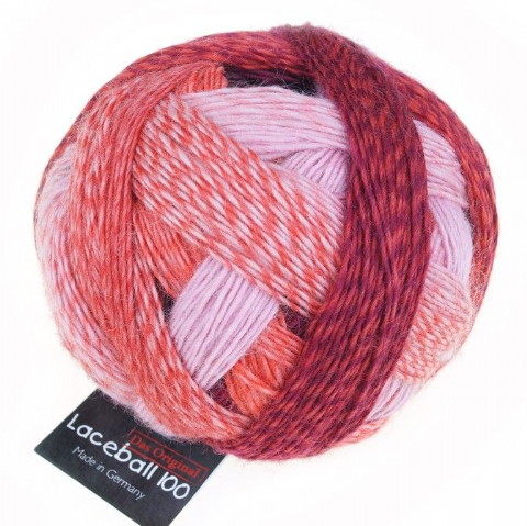 Schoppel-Wolle LACE BALL 100 red to go 2305